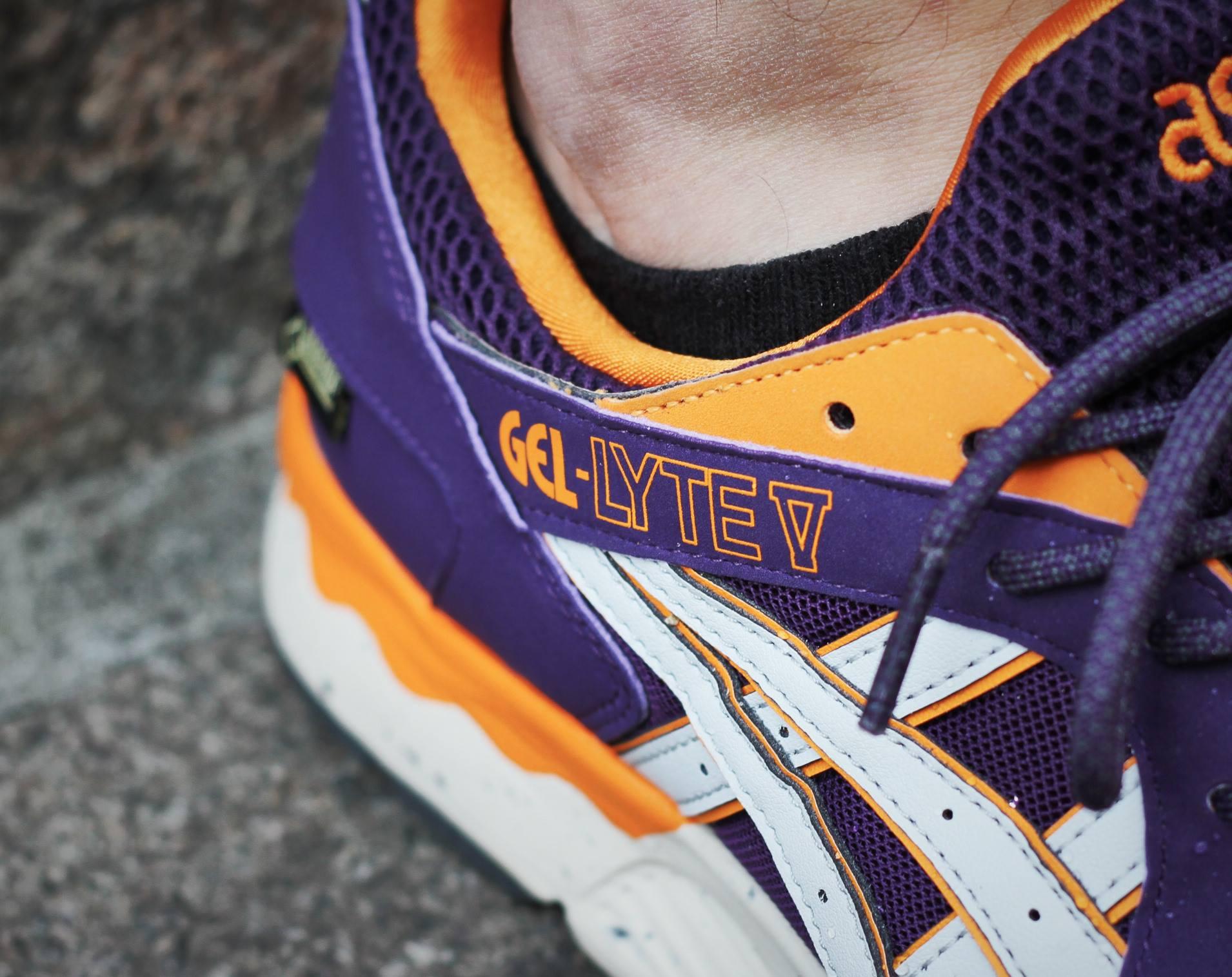 Asics Gel Lyte 5 Gore Tex Purple Orange-6
