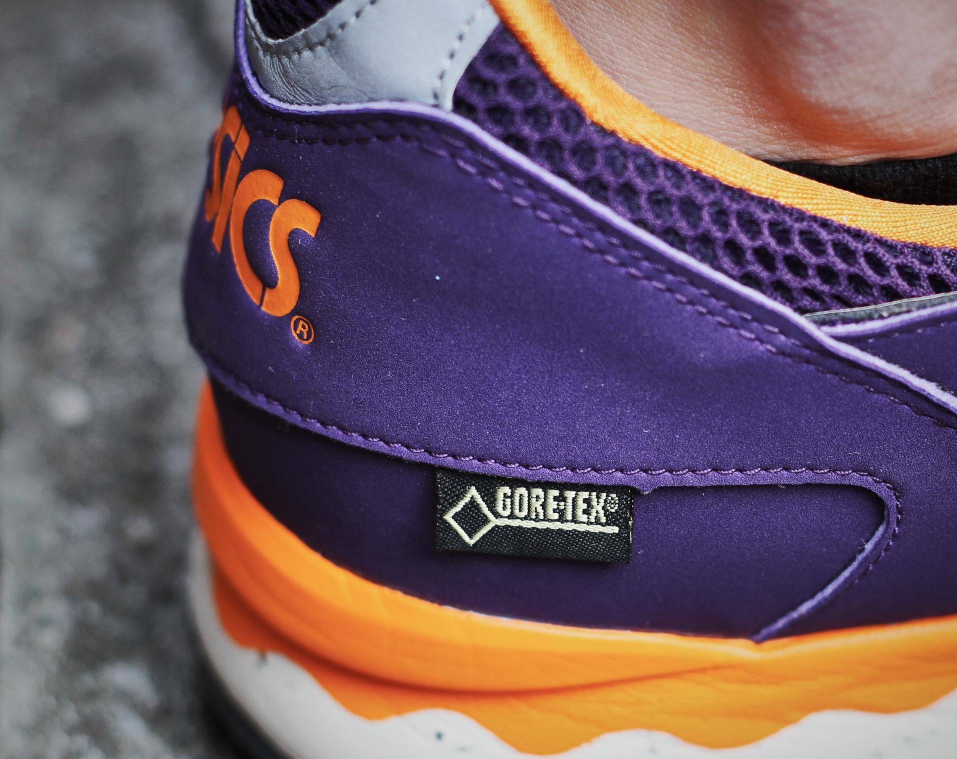 Asics Gel Lyte 5 Gore Tex Purple Orange-7