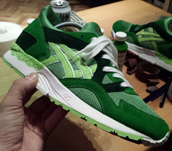 Asics Gel Lyte 5 Lime Juice (4)