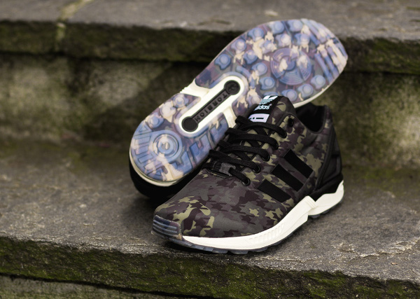 Italia Independent x Adidas ZX Flux 'Camouflage'