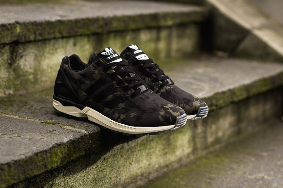 a67b90a961018 Italia Independent x Adidas ZX Flux  Camouflage  ...