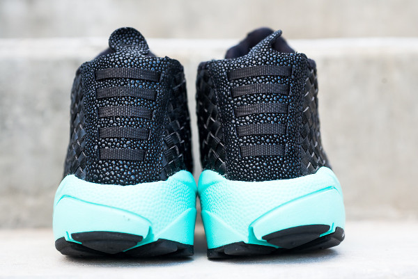 Nike Air Footscape Desert Chukka Black Neo Turquoise (2-1)