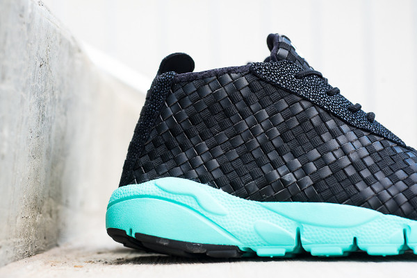 Nike Air Footscape Desert Chukka Black Neo Turquoise (2-2)