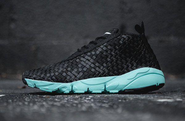 Nike Air Footscape Desert Chukka Black Neo Turquoise (3)