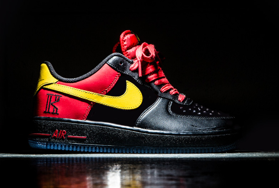 Nike Air Force 1 Low CMFT Signature Kyrie Irving University Red-1