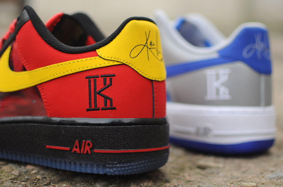 Nike Air Force 1 Low CMFT Signature Kyrie Irving University Red-3
