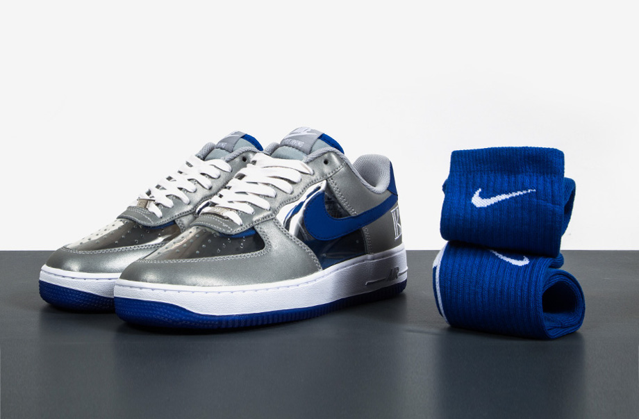 Nike Air Force 1 Low CMFT Signature Kyrie Irving Wolf Grey