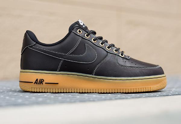 the best attitude f3668 468f9 Nike Air Force 1 Low Winter Workboot Black Gum (1)