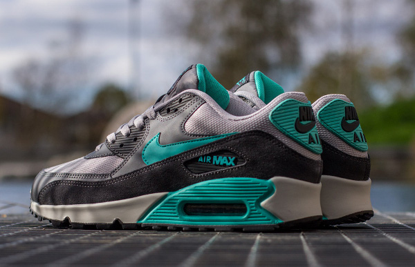Nike Air Max 90 Essential Cool Grey Hyper Jade (5)
