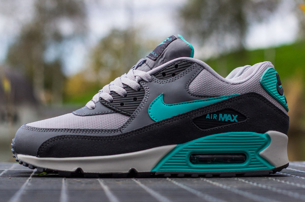 Nike Air Max 90 Essential Cool Grey Hyper Jade (6)