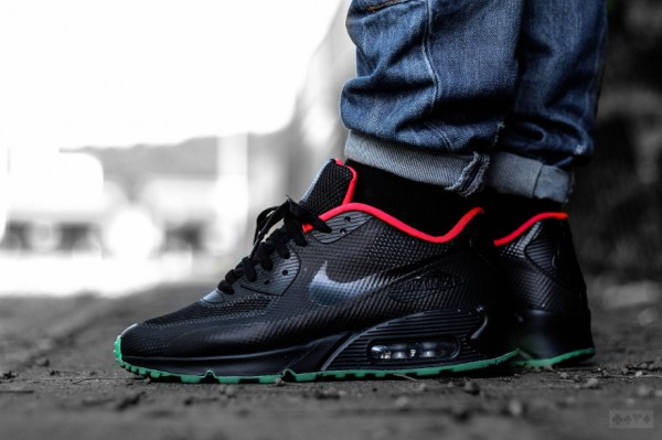 Nike Air Max 90 Hyperfuse ID Yeezy Solar Red (10)