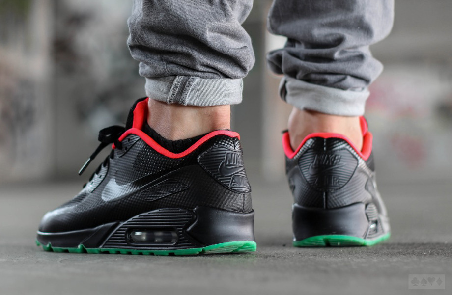 nike air max 90 hyperfuse id yeezy black solar red. Black Bedroom Furniture Sets. Home Design Ideas
