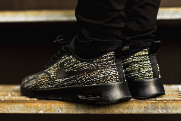 Nike Air Max Thea Jacquard (Black Metallic Gold) (6)