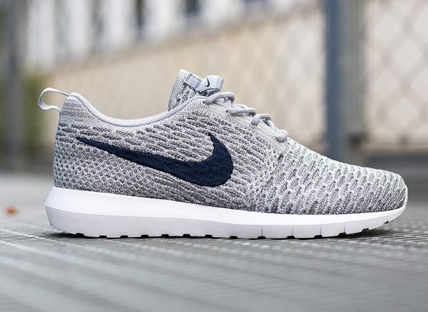 Nike Flyknit Roshe Run 'Wolf Grey' (2)