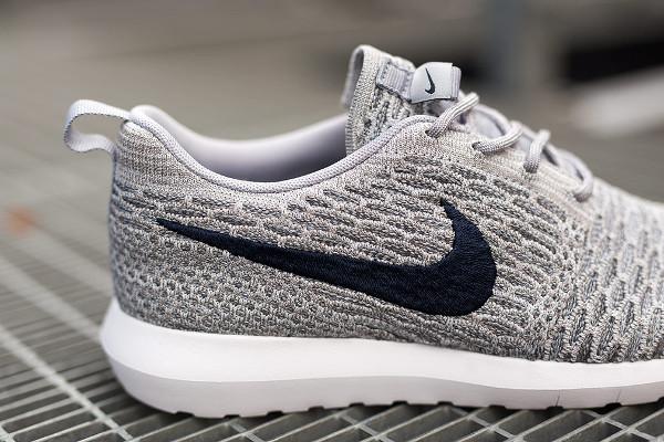 Nike Flyknit Roshe Run 'Wolf Grey' (3)