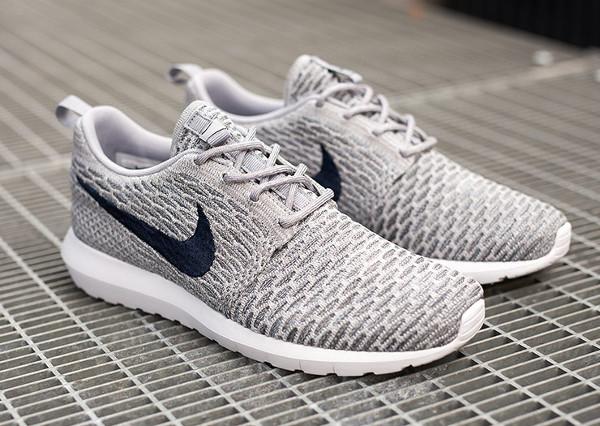 Nike Flyknit Roshe Run 'Wolf Grey' (6)