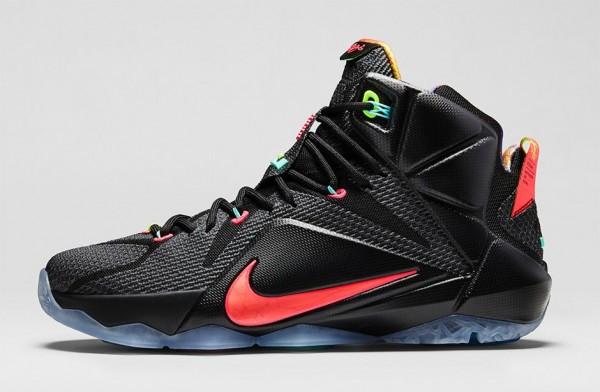 Nike Lebron 12 Data