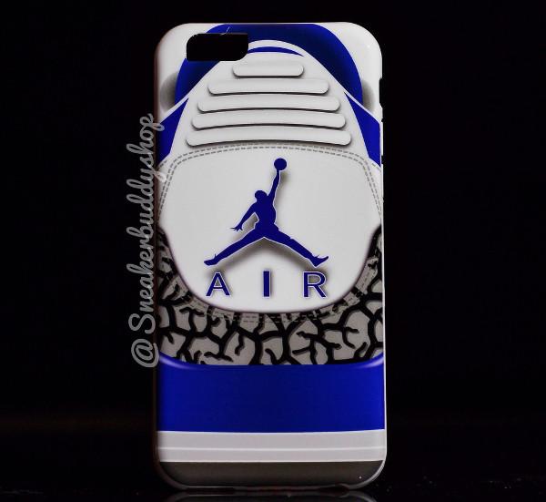 etui air jordan 3 true blue iphone 6