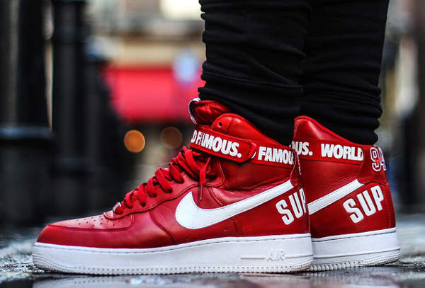 10-Nike Air Force 1 High x Supreme NYC 'Famous World' - Vivianfranklondon