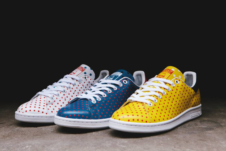 Adidas Originals Stan Smith x Pharrell Williams 'Polka Dots' (1)