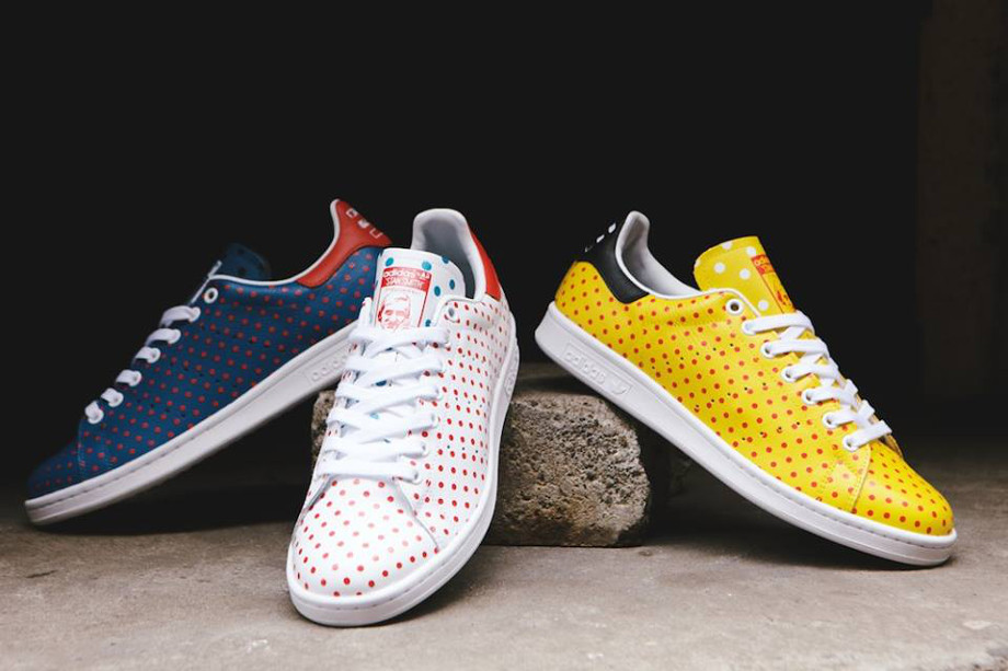 Adidas Originals Stan Smith x Pharrell Williams 'Polka Dots' (2)