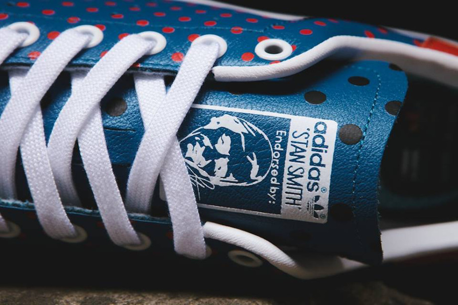 Adidas Originals Stan Smith x Pharrell Williams 'Polka Dots' Blue (1)
