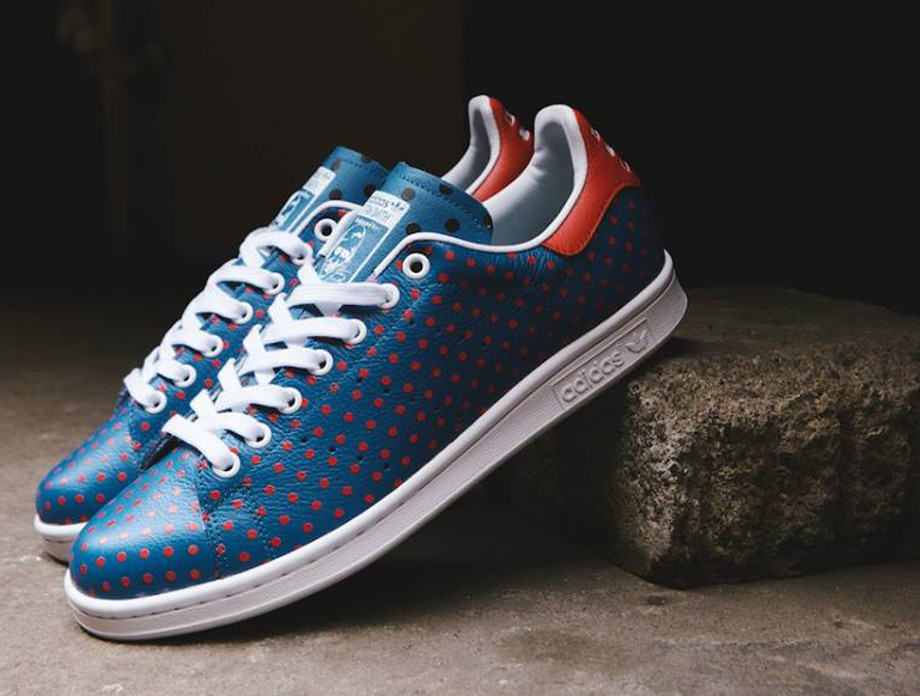 Adidas Originals Stan Smith x Pharrell Williams 'Polka Dots' Blue (4)