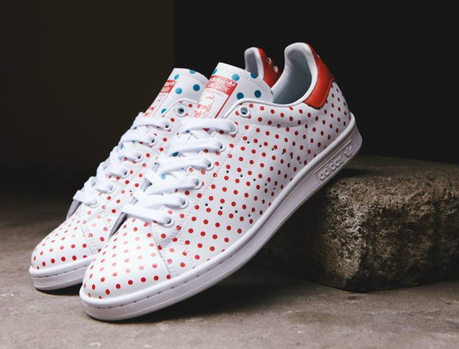 Adidas Originals Stan Smith x Pharrell Williams 'Polka Dots' White (1)