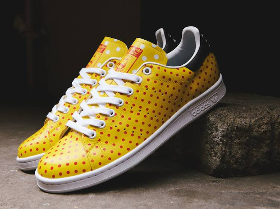 Adidas Originals Stan Smith x Pharrell Williams 'Polka Dots' Yellow (2)