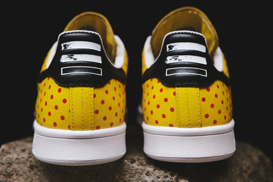 Adidas Originals Stan Smith x Pharrell Williams 'Polka Dots' Yellow (4)