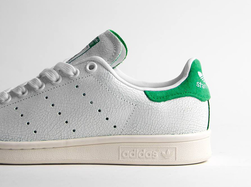 Adidas Stan Smith 'Crackled Leather' femme ...