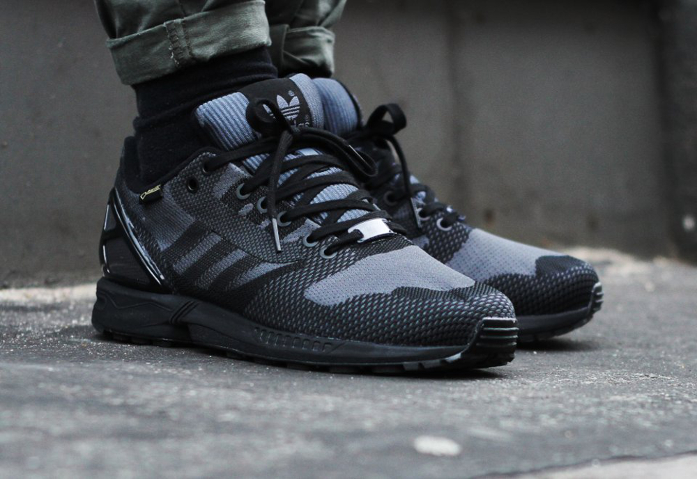 adidas zx flux weave 39 gore tex 39 black o l 39 acheter. Black Bedroom Furniture Sets. Home Design Ideas