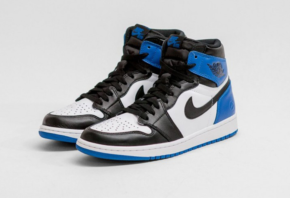 Air Jordan Jordan 1 X Fragment - Bleu 25fHc