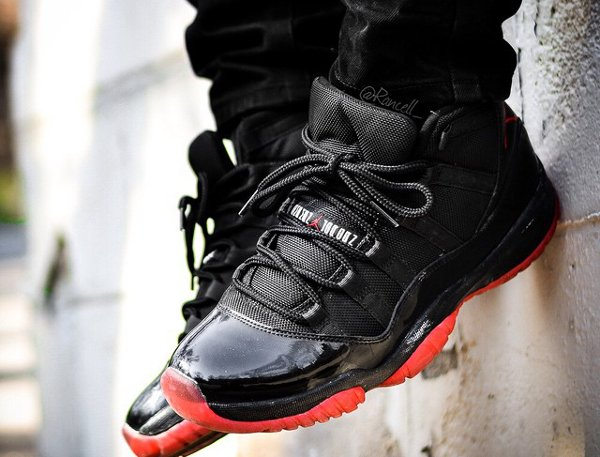 Air Jordan 11 Bred - @rancell_