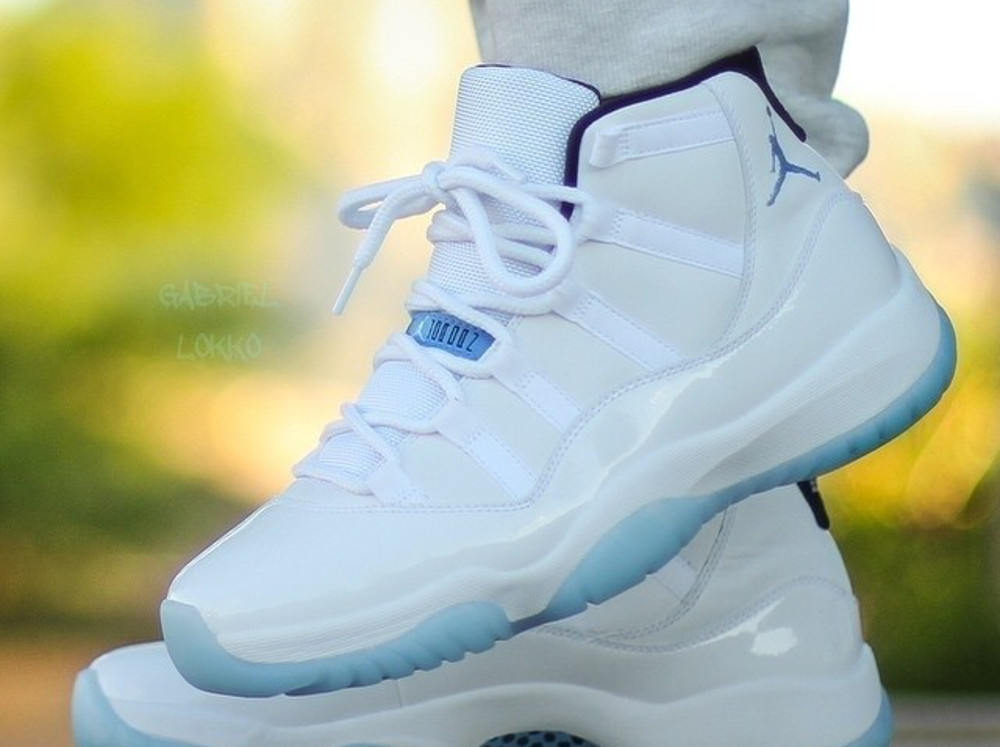 Air Jordan 11 Columbia Legend Blue - Gabriel_lokko