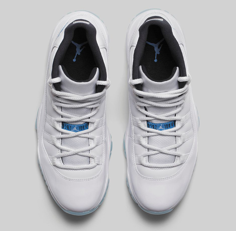 Air Jordan 11 Legend Blue (Columbia) Retro 2014-2