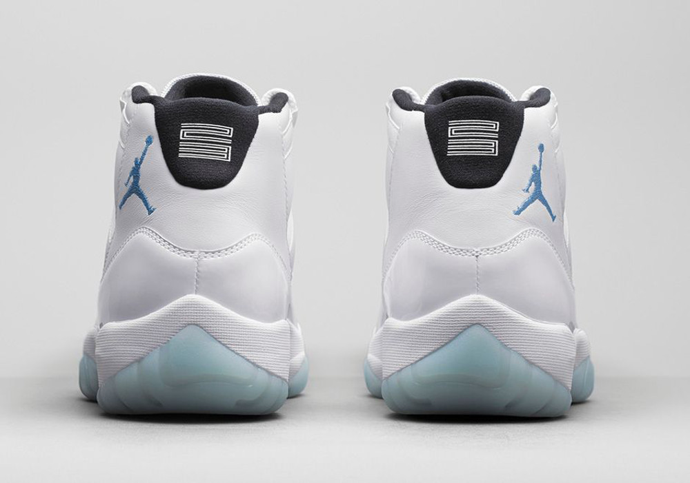 Air Jordan 11 Legend Blue (Columbia) Retro 2014-5