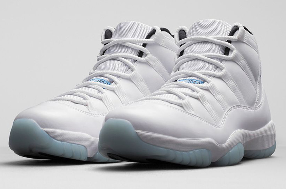 Air Jordan 11 Legend Blue (Columbia) Retro 2014