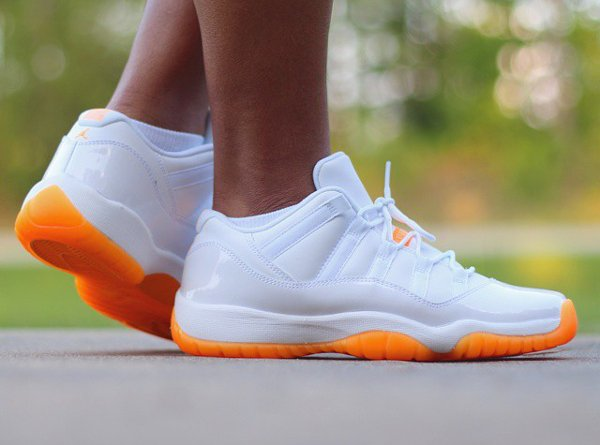 Air Jordan 11 Low Citrus - @thatevansgrl