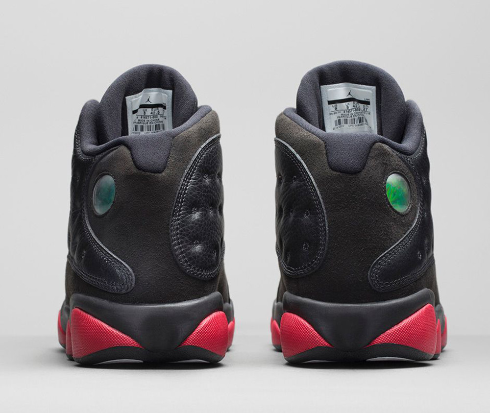 Air Jordan 13 Retro 'Black & Gym Red'-5