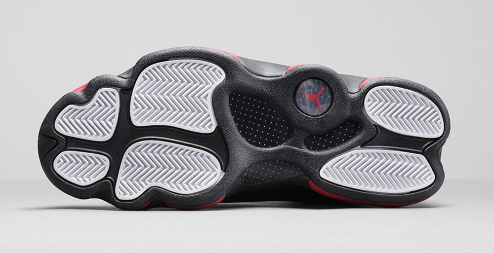 Air Jordan 13 Retro 'Black & Gym Red'-7