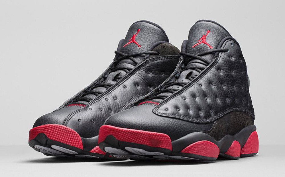 Air Jordan 13 Retro 'Black & Gym Red'