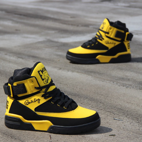 sports shoes b0ece bbe4e Ewing 33 Hi OG Retro Black Dandelion (2)