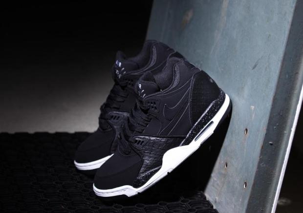 Nike Air Flight 89 Black Python (5)