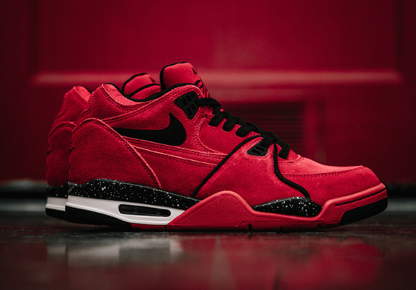 Nike Air Flight 89 Suede Gym Red (1-1)