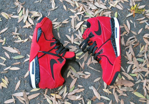 Nike Air Flight 89 Suede Gym Red (3)