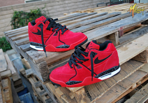 Nike Air Flight 89 Suede Gym Red (5)