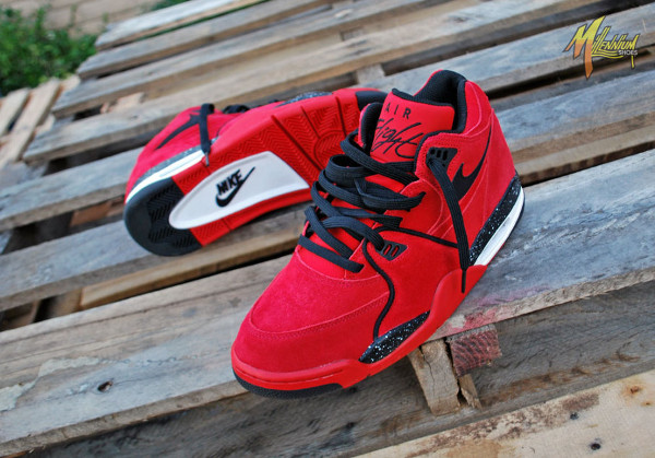 Nike Air Flight 89 Suede Gym Red (6)