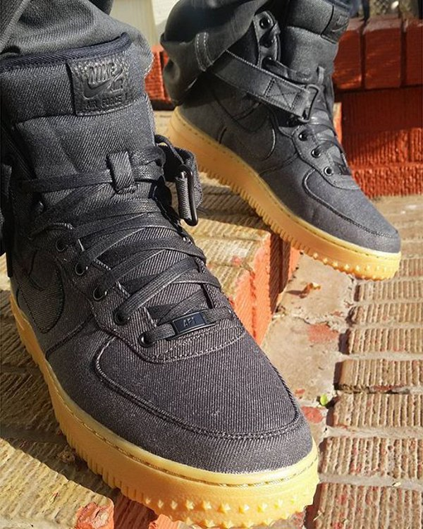 Nike Air Force 1 High ID Pendleton Warm and Dry - @bakegriffin (1)