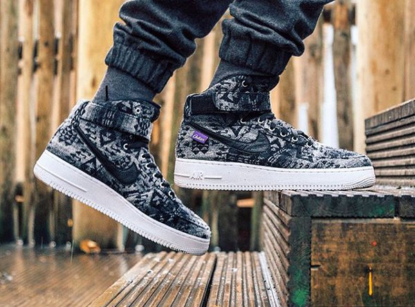 Nike Air Force 1 High ID Pendleton Warm and Dry - @hova09 (1)